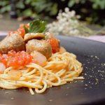 Spaghetti Bolognaise with Meatballs