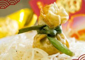 Moneybag Dumplings isi Bakso Ayam Fiva
